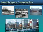 assembly square assembly row3
