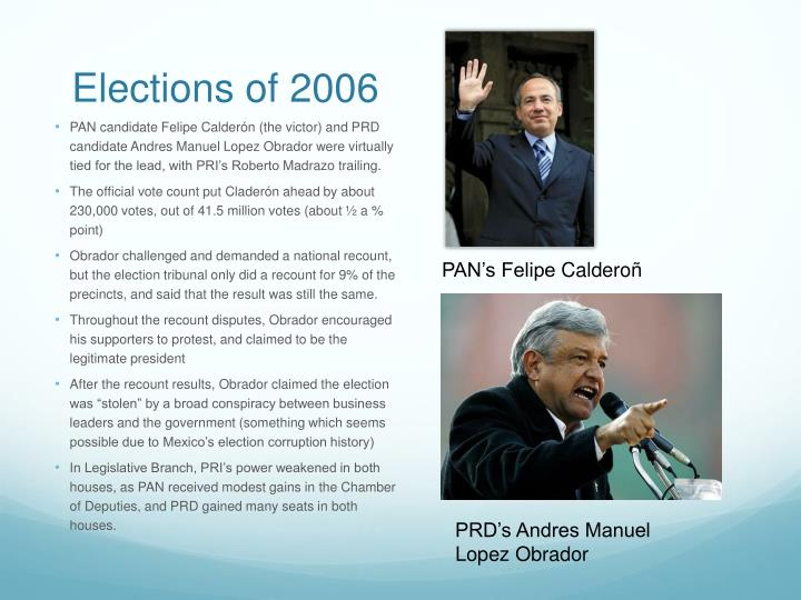 Elections of 2006