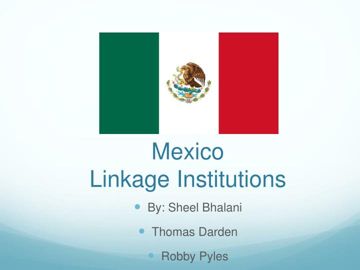 mexico linkage institutions n.