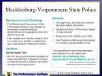 mecklenburg vorpommern state police