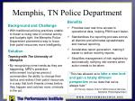 memphis tn police department
