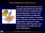 prime objectives of this course2