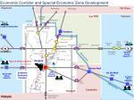 economic corridor and special economic zone development