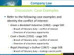 discussion case examples