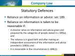 statutory defences2