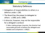 statutory defences3