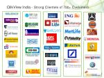 qlikview india strong clientele of 700 customers