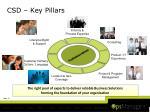 csd key pillars