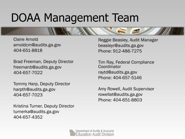 Doaa management team