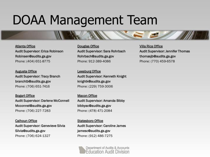 Doaa management team1