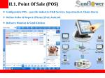 ii 1 point of sale pos