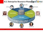 ii 2 enterprise resource planning