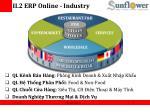 ii 2 erp online industry
