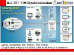 ii 3 erp pos synchronization