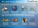 iii 1 saas cloud e business