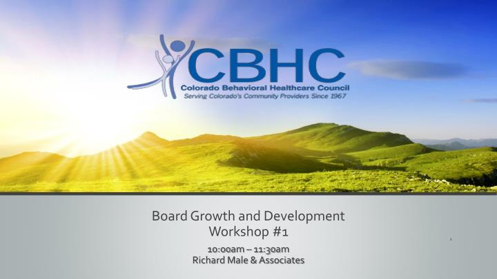 board growth and development workshop 1 n.