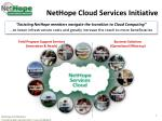 nethope cloud services initiative
