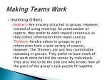 making teams work7