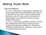 making teams work8