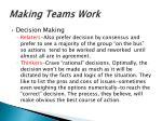 making teams work9