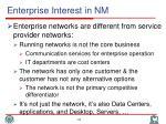 enterprise interest in nm