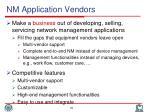 nm application vendors