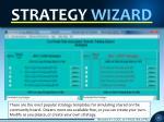 strategy wizard