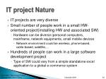 it project nature