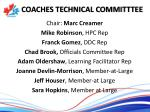 coaches technical committtee