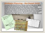 strategic planning northeast area