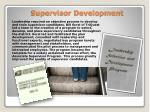 supervisor development