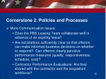 cornerstone 2 policies and processes1