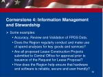 cornerstone 4 information management and stewardship1