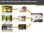 5 many diet physical activity and health outcomes