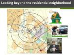looking beyond the residential neighborhood