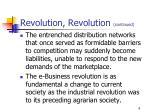 revolution revolution continued