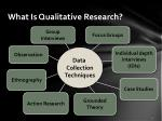 what is qualitative research1