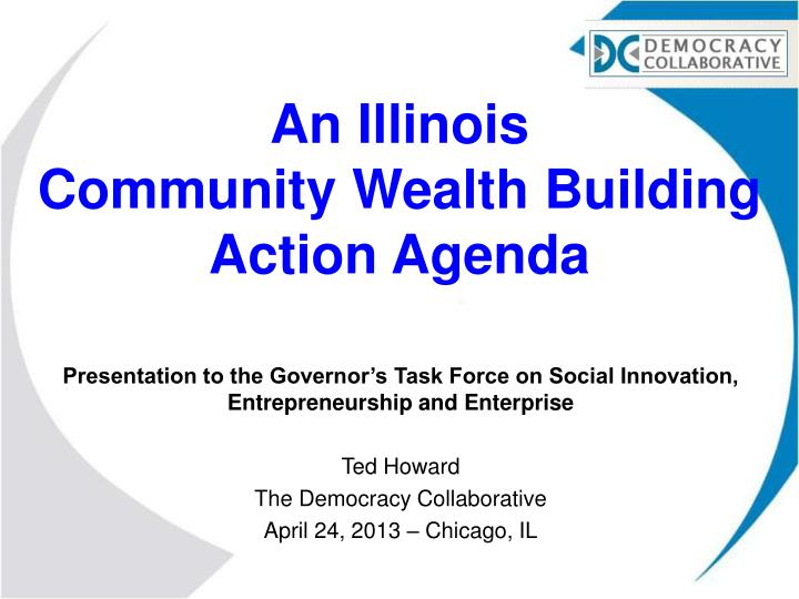 an illinois community wealth building action agenda n.