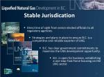 stable jurisdication