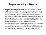 rogue security software