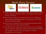 multi party system