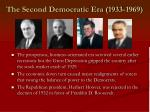 the second democratic era 1933 1969