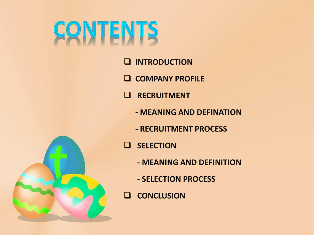 PPT - RECRUITMENT AND SELECTION PROCESS PowerPoint
