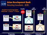 asian development bank recruiting consultants qcbs