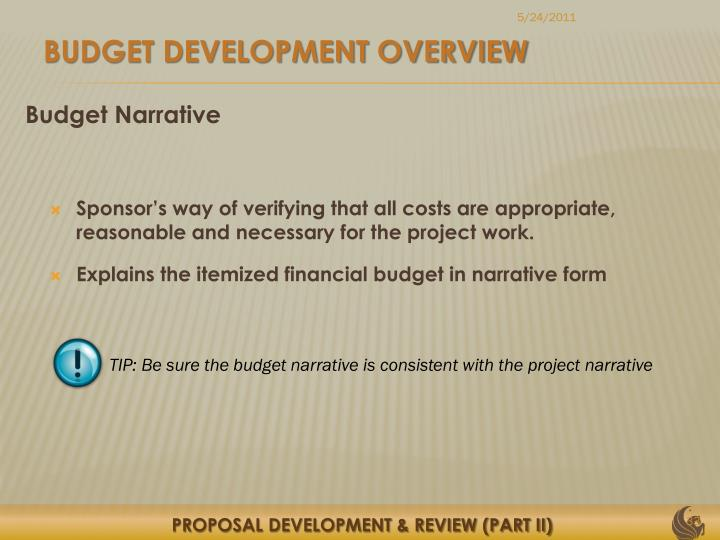 PPT - PROPOSAL DEVELOPMENT & REVIEW (PART II) Presented by: Justo