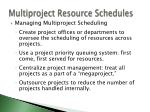 multiproject resource schedules1