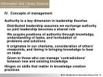 iv concepts of management22