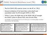 oawl technical readiness level trl