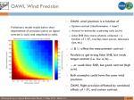 oawl wind precision