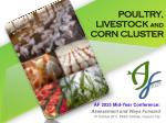 poultry livestock and corn cluster